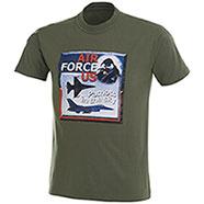 T-Shirt Air Force US Green
