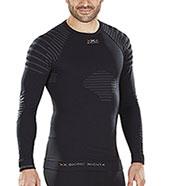Shirt Long Sleeves X-Bionic Invent Man Black/Antracite
