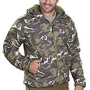 Giacca Bergen Camouflage Green