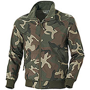 Giacca Softshell Bruges Camouflage Green