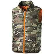 Gilet Imbottito Trendy Camouflage