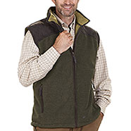 Gilet pile Seeland William Fleece Green