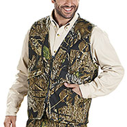 Gilet Caccia Multipocket Forest