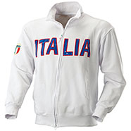 Felpa Italia White Full Zip