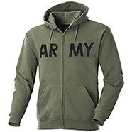 Felpa con cappuccio   New Army Green