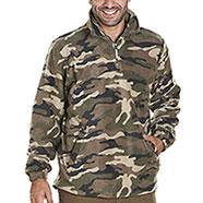 Maglia pile da caccia Camouflage Green