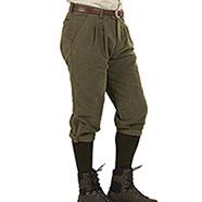 Pantaloni alla Zuava Beretta Fustagno Green DVM