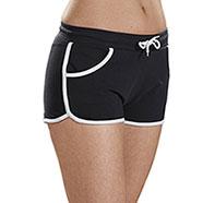 Short Pant Donna Trendy Black
