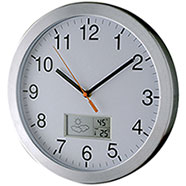 Orologio Meteo Alluminio