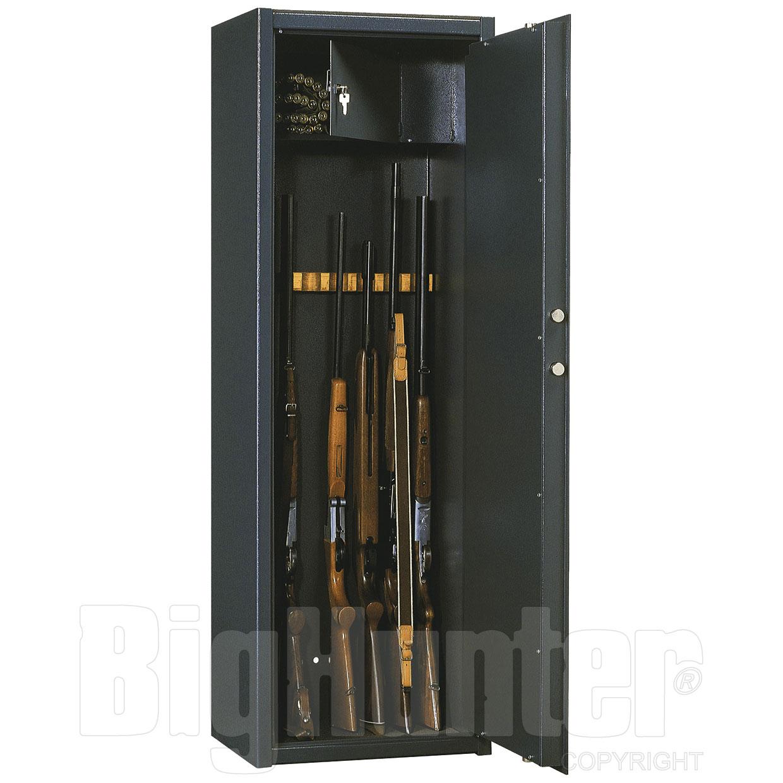 Armadio Blindato Portafucili 8/12 Silmec H150L50P41-Kg97