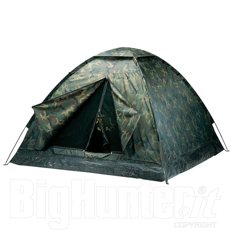 Tenda da campeggio igloo adventure mimetica 3 posti for Tende da campeggio decathlon