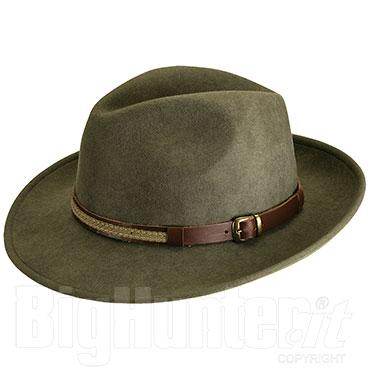 Cappello Kalibro Feltro Oliva