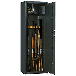 Armoured Cabinet for 8/12 Rifles Silmec Line Steel