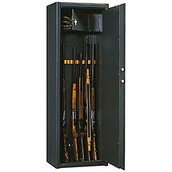 Silmec Armored Gun Cabinets for 8/12 Rifle Electronics Closing