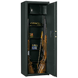 Silmec Armored Gun Cabinets for 6 Rifle - Electronics Closing