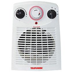 Termoventilatore Telefunken con Timer 1000W/2000W