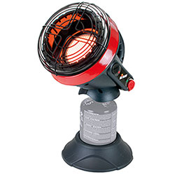 Stufa Portatile Mr Heater Little Buddy 1,1Kw Istruz. in Italiano