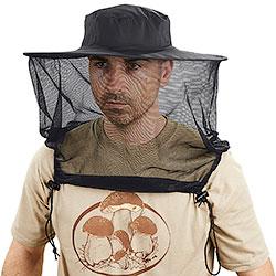 Cappello Antinsetti Rete con Chiusure Ascellari