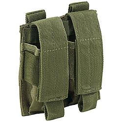 Portacaricatore Pistola Doppio Molle System Green