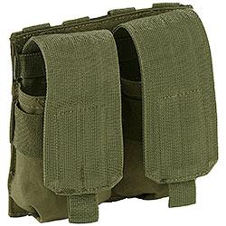 Portacaricatore Doppio M4/M16 Molle System Green