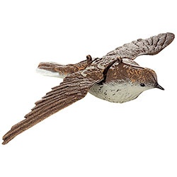 Skylark in flight decoy
