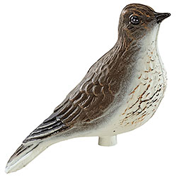 Perching skylark decoy