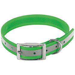 Collare Biothane Biogold Reflex Green