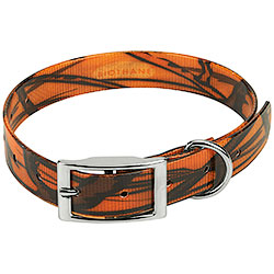 Collare per cani Biothane Biogold Orange Camo
