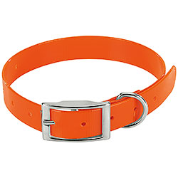 Collare per cani Biothane Biogold Orange