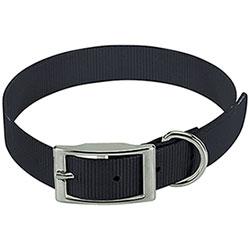 Collare per cani Biothane Biogold Black
