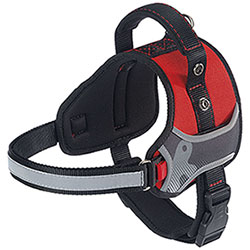 Pettorina per cani Ferplast Hercules Reflex Medium Red