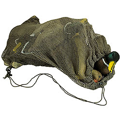 Green decoy bag