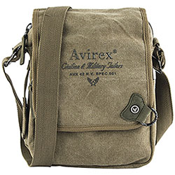 Borsello Avirex Coronado Large Flap Canvas