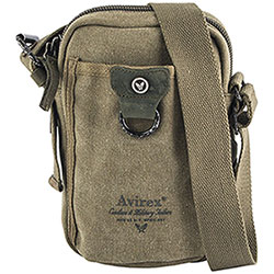 Borsello uomo Avirex Coronado Small Zip Canvas