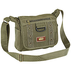 Borsa a Tracolla Canvas ST Green