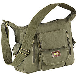 Borsa Hunting Canvas ST Green