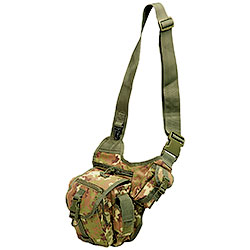 One-shoulder Foliage Combat Bag