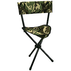 Camouflage design folding chair