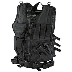 Black BagPack Tactical Vest