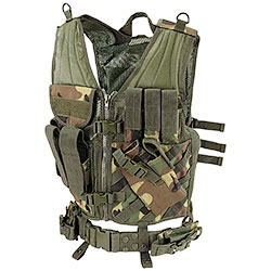 Wood BagPack Tactical Vest