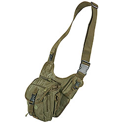 Green One-shoulder Combat Bag