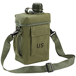 Borraccia US Patrol Green