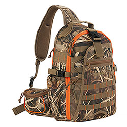 Zaino Monospalla BigHunter Bushcamo Orange