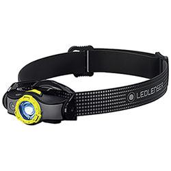 Lampada Frontale Ricaric. Ledlenser MH5 400 Lumen Black Yellow
