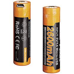 Batteria Fenix Ricaricabile 18650 Li-ion ARB-L18-2600U