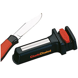 Pocket knife sharpener