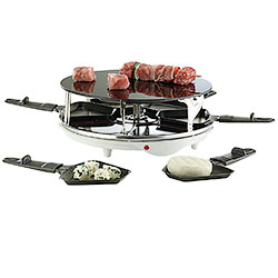 Grill Raclette Vetro-Inox Flying Saucer
