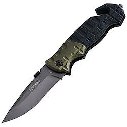Coltello chiudibile Safety Black and Green