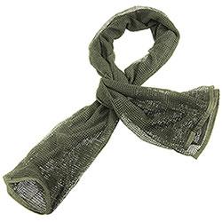 Sciarpa Rete Olive Green