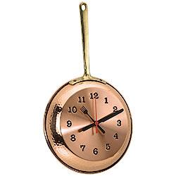 Orologio da parete Padella Copper